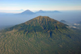 Mt. Merbabu last erupted in 1797