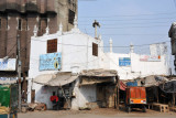 What looks like a small white mosque on Ravi Road
