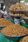 Snack vendor's stall near Lahore Fort
