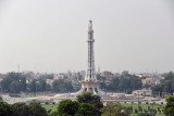 Lahore's Iqbal Park with the tower Minar-e-Pakistan
