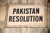 The Pakistan Resolution demanded the creation of an independent homeland for Muslims the Indian subcontinent