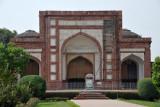 Another of the four gates leading off the Akbar Sarai Quadrangle