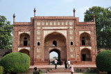 The Tomb of Jahangir was built by his son and successor, Shah Jahan