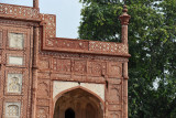 Detail of the western gate to the Tomb of Jahangir