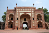 The Tomb of Jahangir is several km northwest of Lahore on the other side of the Ravi River