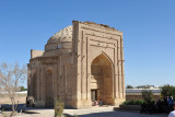 For photography, the southern facing Mausoleum of Sultan Ali is better situated