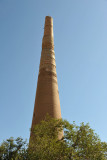 Genghis Khan left only 1 minaret of the great mosque standing