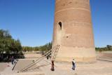 Base of the Gutlug Timur Minaret, Konya Urgench