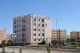 Residential area of Daşoguz, Turkmenistan