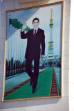 Following in the footsteps of Turkmenbashy