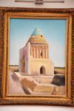Painting of Konye-Urgench's Sultan Tekesh Mausoleum