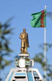 The first president of independent Turkmenistan, Saparmurat Niyazov