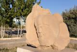 Stone sculpture, Daşoguz Park