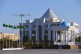 The new Dashoguz History Museum was opened by President Gurbanguly Berdimuhamedov in June 2011