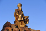 An exception to the gold statue rule - Magtymguly Pyragy