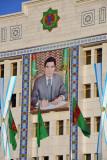 Portrait of the Second President of Turkmenistan