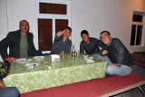 A bizarre style of table common in Central Asia