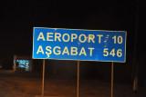 Heading for Dashoguz Airport to save 500 km across the desert to Ashgabat
