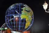 Globe in front of Dashoguz Airport