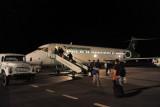 Turkmenistan Airways Boeing 717 (EZ-A107) at Dashoguz Airport