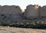 Walls of Merv's 5th walled cits - Bairam Ali Khan Kala, built in the 18th C. near the modern town