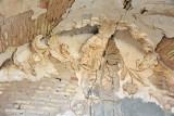 Remains of stucco ornamentation