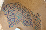 Remains of 15th Century Timurid tile work, Merv