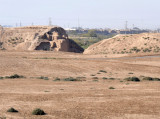 Excavations of the gate to the second ancient city, the Hellenistic Giaur Kala