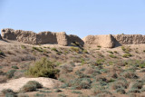 Northern wall of the Sultan Qala, the largest of Merv's ancient walled cities