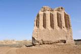 Kepderihana or Kaftar Khana (pigeon house) - one of the more substantial ruins in the Shahryar Ark