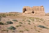The Kepderihana also preserves Merv's unique corrugated wall architecture