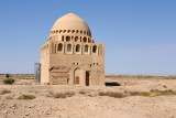 The dome was restored in 1911 and the rest of the mausoleum in the 1990's with the aid of Turkey