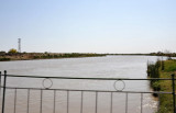 The 1375 km Qaradum Canal, built by the USSR 1954-1988, brings water from the Amu-Darya River to irrigate Turkmenistan's cotton