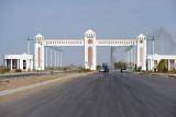 Gateway to Türkmenabat - known as Chardzhou until 2003