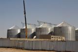 Grain silos, Türkmenabat