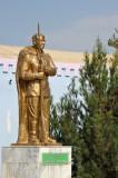 Statue of Türkmenbashy in Türkmenabat
