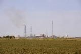 Cotton fields and industry in Türkmenabat