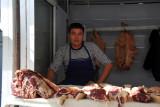 Butcher at the Türkmenabat Bazar