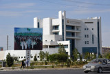 The new hospital in Türkmenabat, very similar to the ones in Dashoguz and Mary
