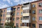 Soviet-era apartments in Türkmenabat