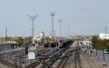 Railway yard, Türkmenabat