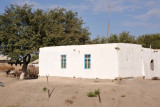 A sturdy little house on the road to the Uzbekistan border