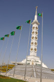 The monument is in the far southwest of Ashgabat
