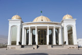 The National Library, part of the Great Saparmurat Turkmenbashi Cultural Centre