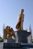 Turkmenbashi, leader of the Turkmen - the First President, Saparmurat Niyazov