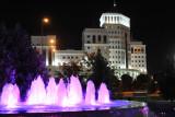 The southeast corner of Independence Park, Ashgabat