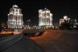 President Niyazov decided Ashgabat needed a river so he had one built