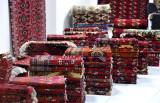 Window shopping for carpets along Sheychenko köçesi