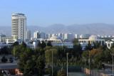 Central Ashgabat from the Grand Turkmen Hotel