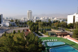 The pool of the Grand Turkmen Hotel